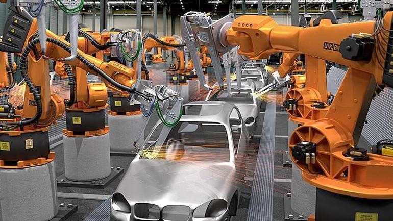 Cách Mạng Công Nghiệp 4.0: Sản xuất tự động hóa bằng Robot