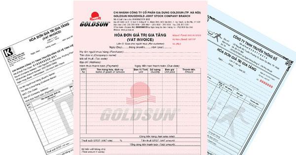 Tối ưu hóa đơn khi làm báo cáo tài chính
