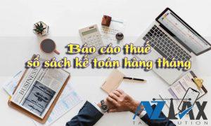 nhận làm báo cáo thuế sổ sách kế toán