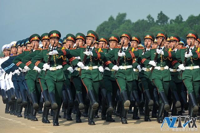 thang bảng lương quân nhân chuyên nghiệp