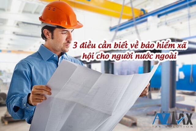 bảo hiểm xã hội cho người lao động nước ngoài