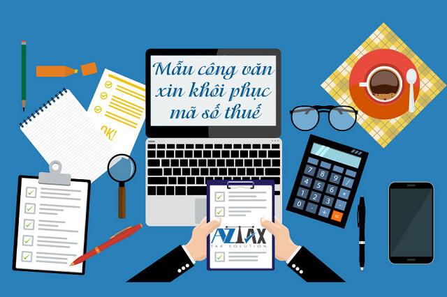 công văn xin khôi phục mã số thuế