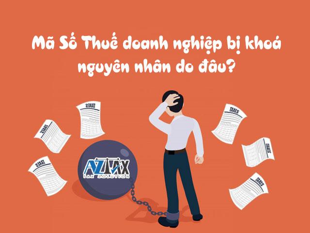 dịch vụ mở mã số thuế doanh nghiệp bị khoá