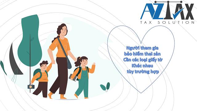 Người tham gia bảo hiểm thai sản cần các loại giấy tờ khác nhau tùy trường hợp