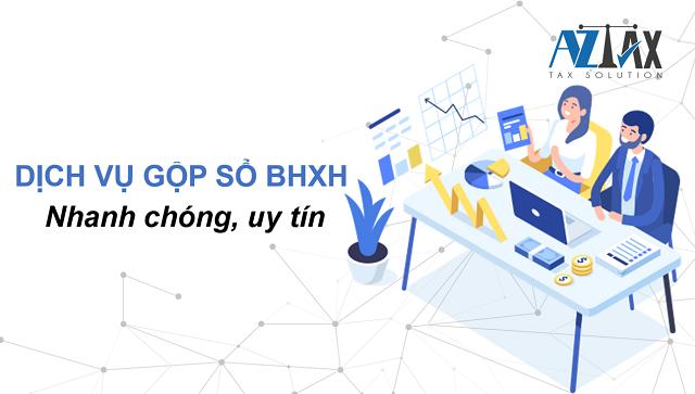 Dịch vụ gộp sổ BHXH