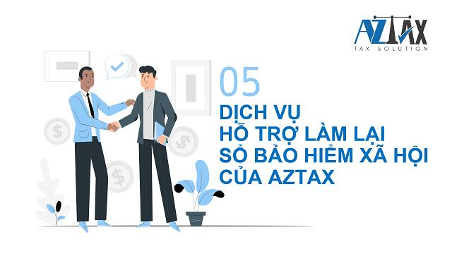 Dịch vụ hỗ trợ làm lại sổ bảo hiểm xã hội của AZTAX