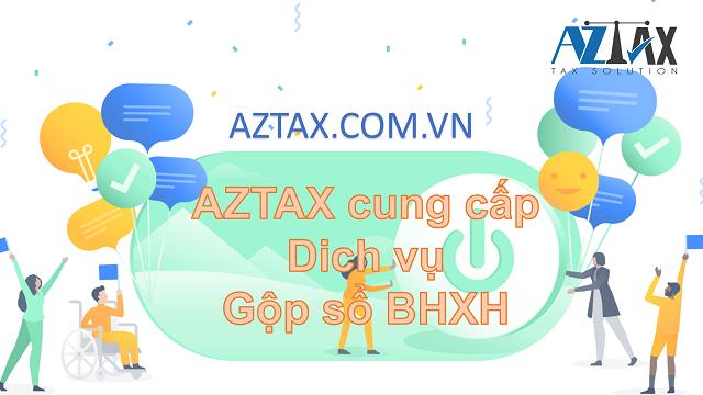 Dịch vụ gộp sổ AZTAX