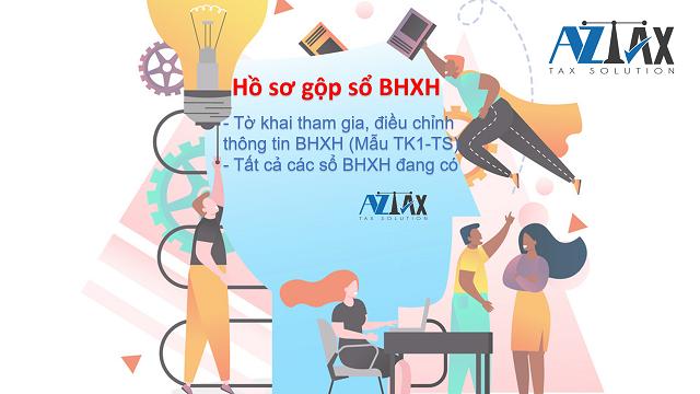 Hồ sơ gộp sổ BHXH