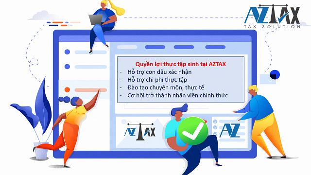 Quyền lợi thực tập sinh tại AZTAX
