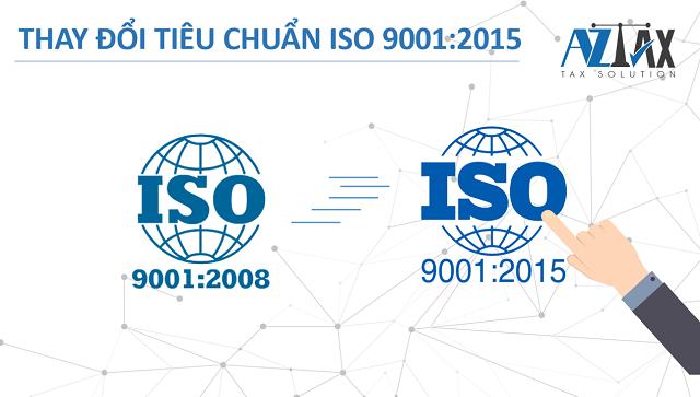 Thay đổi tiêu chuẩn ISO 9001:2015