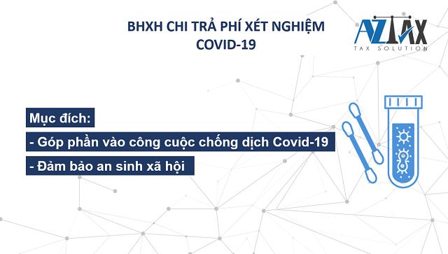 BHXH chi trả phí xét nghiệm Covid-19