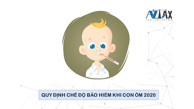 Quy định về chế độ bảo hiểm dành cho người có con bị ốm.