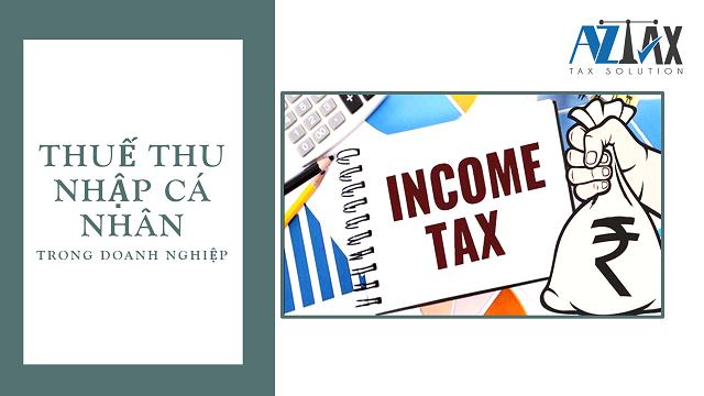 Thuế thu nhập cá nhân trong bảng thanh toán lương