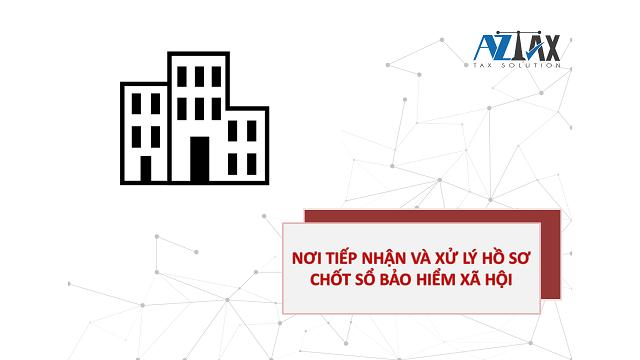 Nơi tiếp nhận và xử lý hồ sơ chốt sổ BHXH.