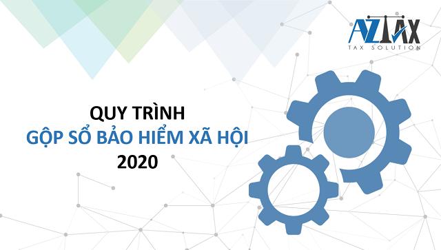 Quy trình gộp sổ BHXH 2020