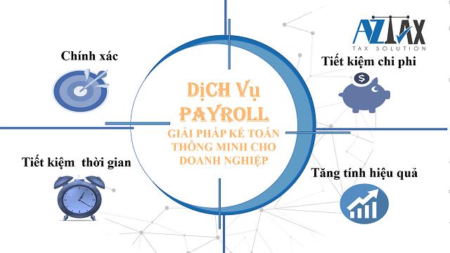 Những lợi thế trong của dịch vụ payroll là gì?