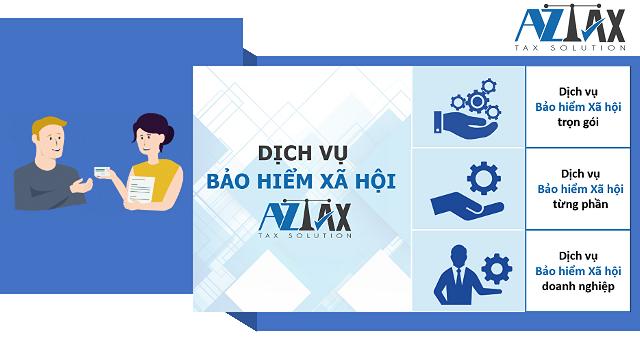 AZTAX chuyên cung cấp dịch vụ liên quan đến BHXH