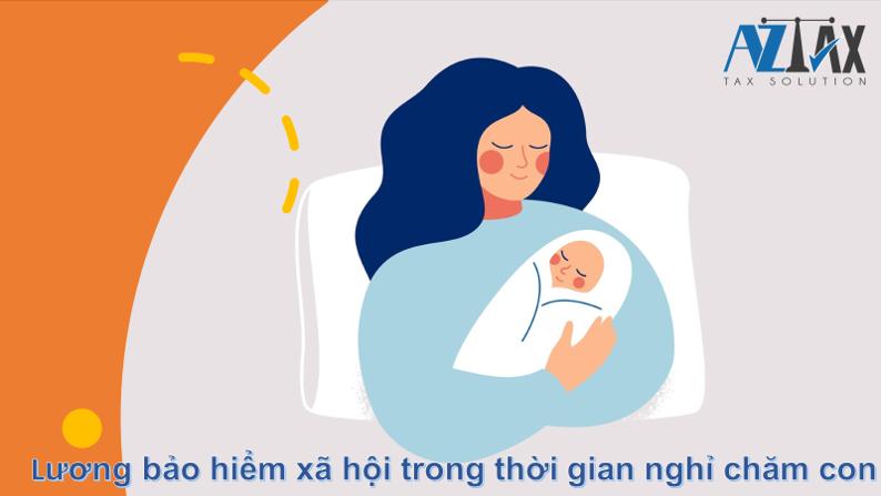 Lương hưởng chế độ thai sản cho người nhận con nuôi