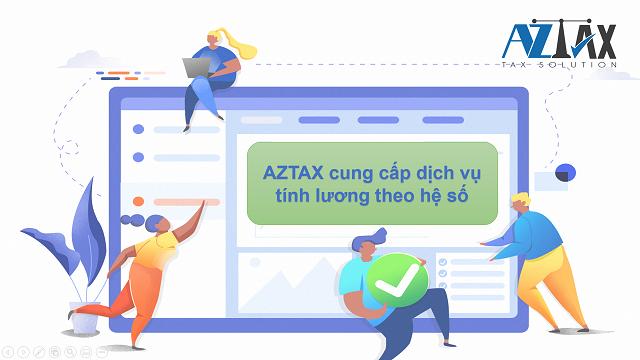 Dịch vụ tính lương AZTAX