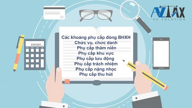 Các khoản phụ cấp lương tính đóng BHXH