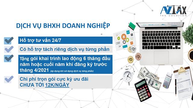 Dịch vụ BHXH doanh nghiệp