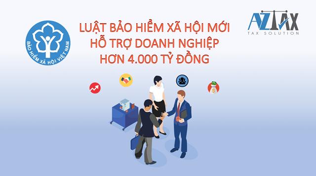 Luật Bảo hiểm xã hội mới ban hành chính sách hỗ trợ cho người dân.