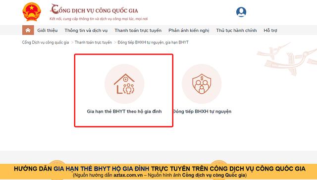Hướng dẫn gia hạn BHYT online - Bước 11
