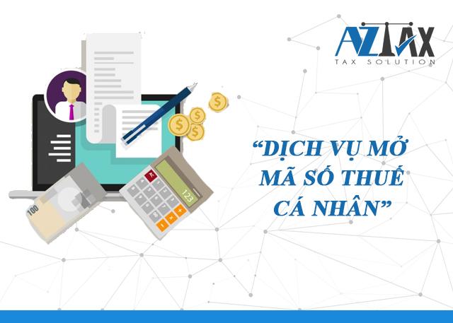 Dịch vụ mở mã số thuế cá nhân