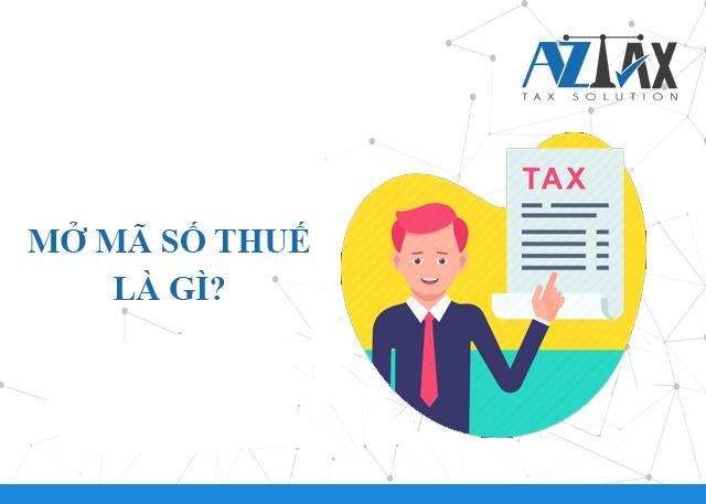 Mở mã số thuế là gì?