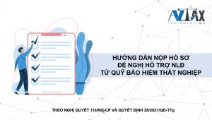 Hướng dẫn nộp hồ sơ đề nghị hỗ trợ từ quỹ BHTN